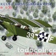 Maquetas: BRONCO - US PIPER CUB L 4 GRASSHOPPER 1/35 CB 35014. Lote 154571846