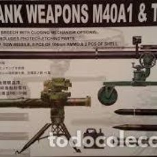 Maquetas: AFV CLUB - ANTI-TANK WEAPONS M40A1 & TOW A1 1/35 AF35021. Lote 154634390