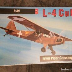 Maquetas: L-4 PIPER CUB 1:48 HOBBYCRAFT HC1580 MAQUETA AVIÓN. Lote 154905352