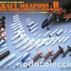 Maquetas: HASEGAWA - AIRCRAFT WEAPONS B U.S GUIDED BOMBS & ROCKET LAUNCHERS 1/48 X48 2. Lote 154959090