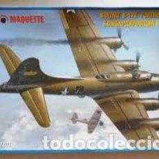 Maquetas: MAQUETTE - BOEING B-17E FORTRESS II 1/72 MQ 7203. Lote 155023002