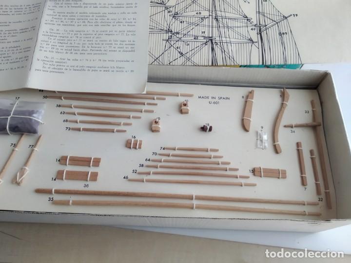 Maquetas: ANTIGUA MAQUETA DE BARCO CONSTRUCTO CLIPPER GREAT REPUBLIC - Foto 6 - 155112642