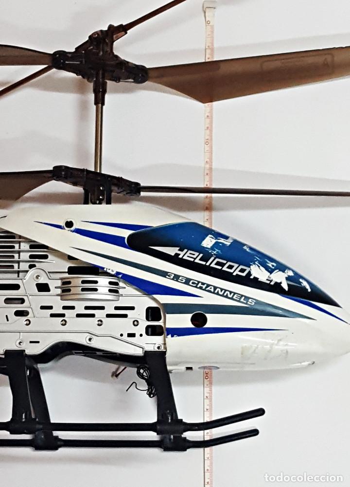 Maquetas: Gran Helicoptero radio control para pieza/reparacion. - Foto 11 - 155234934