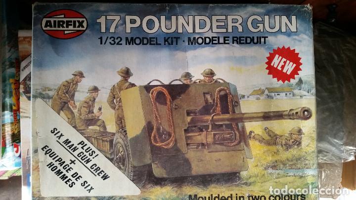 AIRFIX 1:32 '17 POUNDER GUN' (1975) (Juguetes - Modelismo y Radiocontrol - Maquetas - Militar)