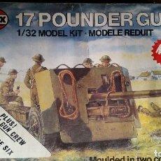 Maquetas: AIRFIX 1:32 '17 POUNDER GUN' (1975). Lote 155446454