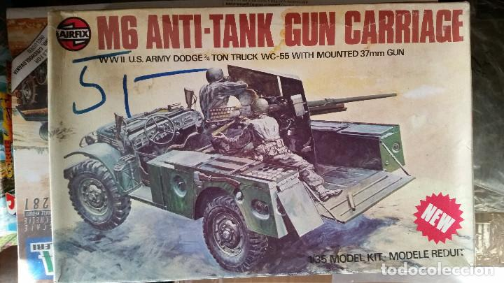 Maquetas: M6 ANTI TANK GUN CARRIAGE (1975) - Foto 1 - 155446650