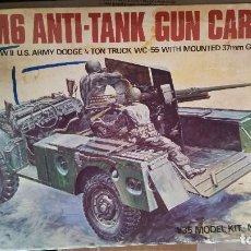 Maquetas: M6 ANTI TANK GUN CARRIAGE (1975). Lote 155446650