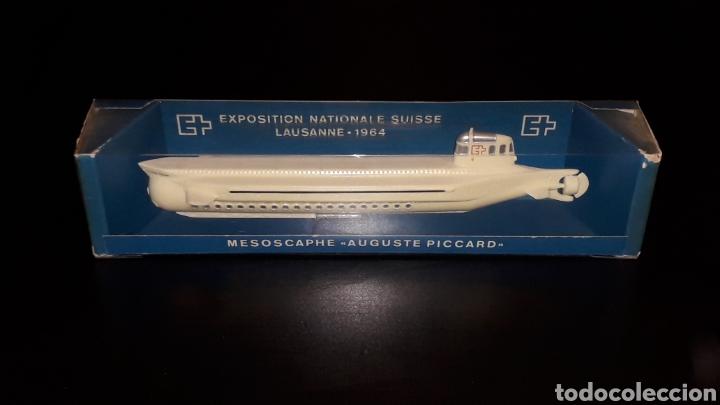 Maquetas: Submarino Mesooscoca Mesoscaphe Auguste Piccard Expo Suiza Exposition Nationale Suisse Lausanne 1964 - Foto 2 - 155536270