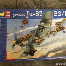 Maquetas: JUNKERS JU-87 B2/R2 1:72 STUKA REVELL 04620 MAQUETA AVION. Lote 155553981