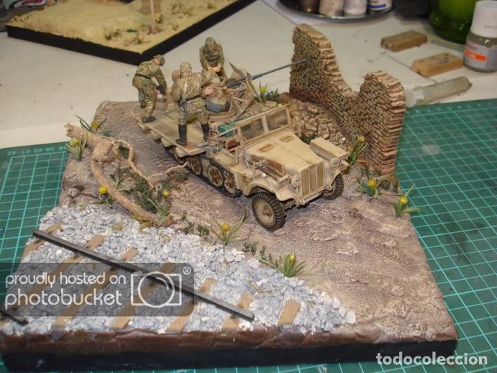 Maquetas: Sd.Kfz. 10/4 Flak.30 1:72 CAESAR MINIATURES 7208 maqueta carro antiaéreo diorama - Foto 10 - 155835996
