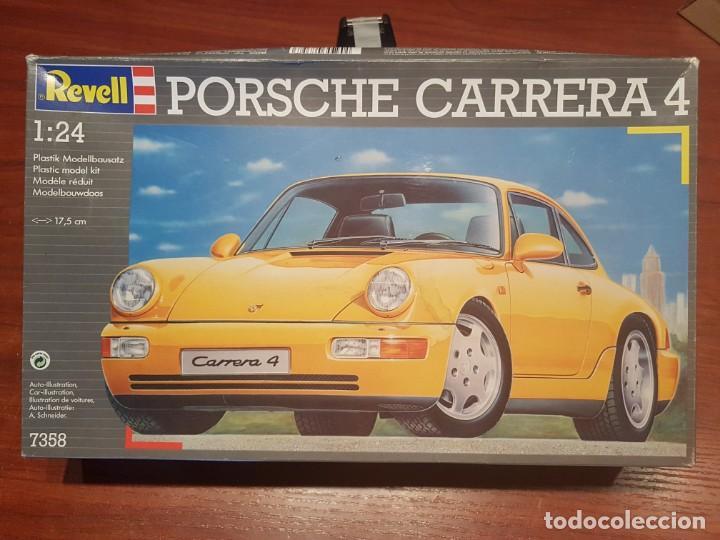 MAQUETA PORSCHE REVELL 07358 KIT 1/24 PORSCHE CARRERA 4. (Juguetes - Modelismo y Radiocontrol - Maquetas - Coches y Motos)