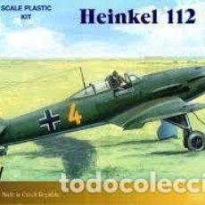 Maquetas: RS - HEINKEL 112 B-1 1/72 + EXTRAS DOS KITS . Lote 156010718