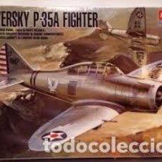 Maquetas: ACADEMY - SEVERSKY P-35A FIGHTER 1/48 2180 + EDUARD 48087. Lote 156010846
