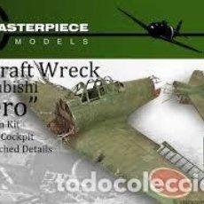 Maquetas: MASTERPIECE - AIRCRAFT WRECK MITSUBISHI ZERO 1/35 MMDA001. Lote 156011734
