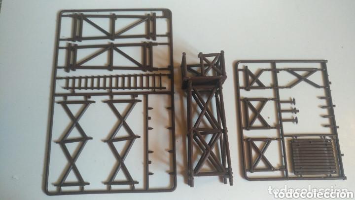 Maquetas: Torre de vigilancia madera 1/35 para dioramas.. - Foto 2 - 156038960