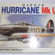 Maquetas: HAWKER HURRICANE MK-I/IIB. AIRFIX ESCALA 1/72. MODELO NUEVO. Lote 156495946
