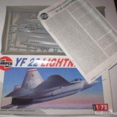 Maquetas: LOCKHEED-BOEING-GENERAL DINAMYCS YF-22. AIRFIX ESCALA 1/72. MODELO NUEVO. Lote 156496130