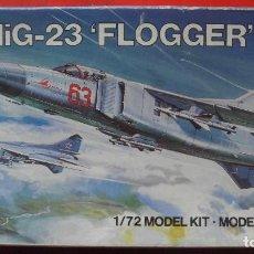 Maquetas: MIG-23 FLOGGER. AIRFIX ESCALA 1/72. MODELO NUEVO. Lote 156496330