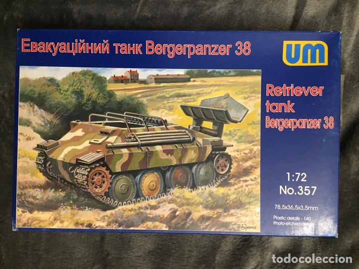 BERGERPANZER 38(T) HETZER 1:72 UM 357 MAQUETA CARRO RECUPERACIÓN DIORAMA (Juguetes - Modelismo y Radiocontrol - Maquetas - Militar)