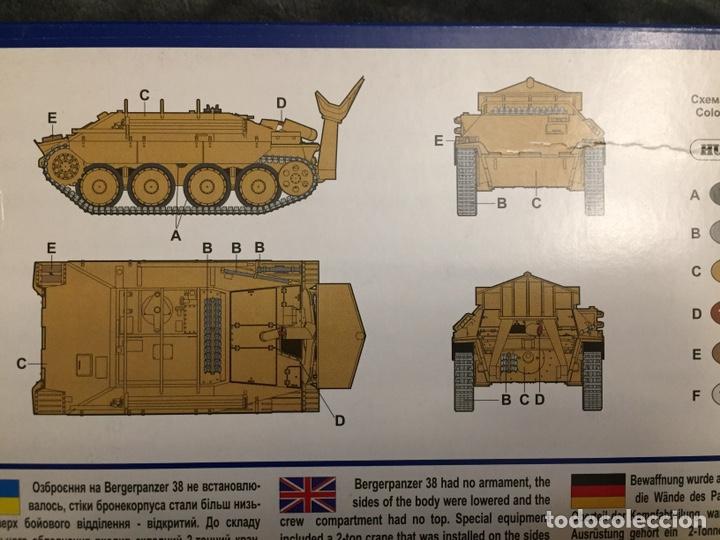 Maquetas: Bergerpanzer 38(t) HETZER 1:72 UM 357 maqueta carro recuperación diorama - Foto 2 - 156522252