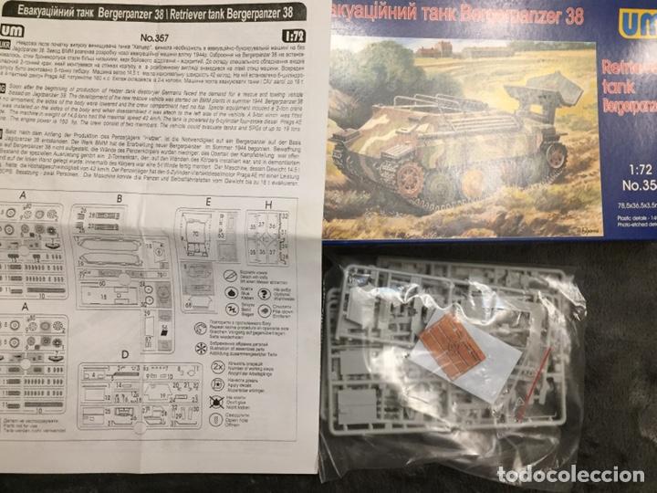 Maquetas: Bergerpanzer 38(t) HETZER 1:72 UM 357 maqueta carro recuperación diorama - Foto 5 - 156522252
