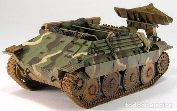 Maquetas: Bergerpanzer 38(t) HETZER 1:72 UM 357 maqueta carro recuperación diorama - Foto 7 - 156522252