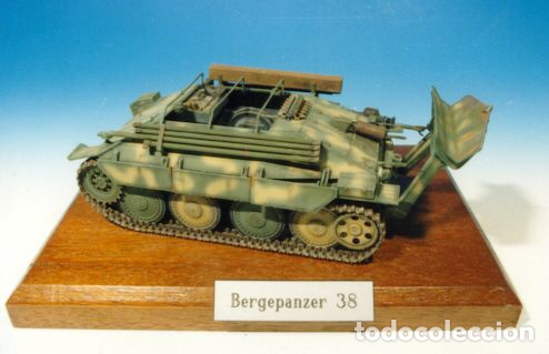 Maquetas: Bergerpanzer 38(t) HETZER 1:72 UM 357 maqueta carro recuperación diorama - Foto 8 - 156522252