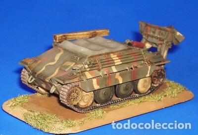 Maquetas: Bergerpanzer 38(t) HETZER 1:72 UM 357 maqueta carro recuperación diorama - Foto 10 - 156522252