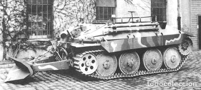 Maquetas: Bergerpanzer 38(t) HETZER 1:72 UM 357 maqueta carro recuperación diorama - Foto 11 - 156522252