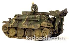 Maquetas: Bergerpanzer 38(t) HETZER 1:72 UM 357 maqueta carro recuperación diorama - Foto 12 - 156522252
