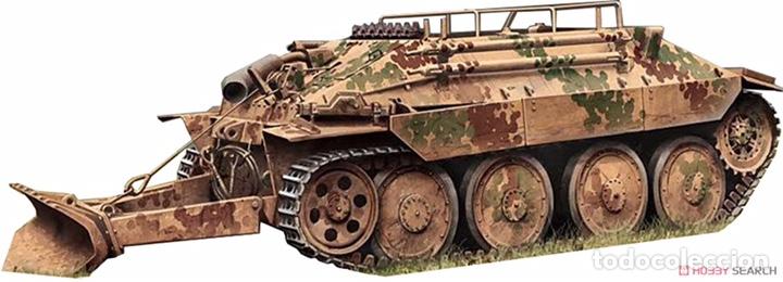 Maquetas: Bergerpanzer 38(t) HETZER 1:72 UM 357 maqueta carro recuperación diorama - Foto 13 - 156522252