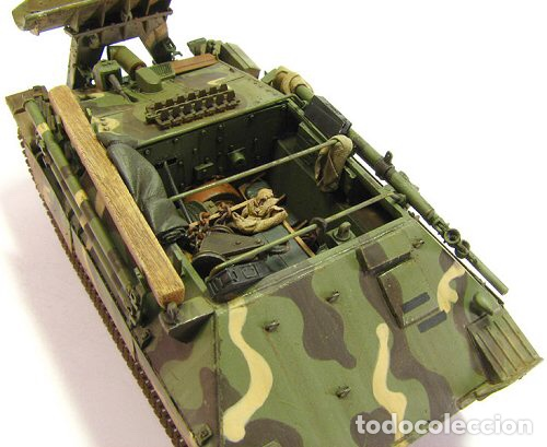 Maquetas: Bergerpanzer 38(t) HETZER 1:72 UM 357 maqueta carro recuperación diorama - Foto 14 - 156522252