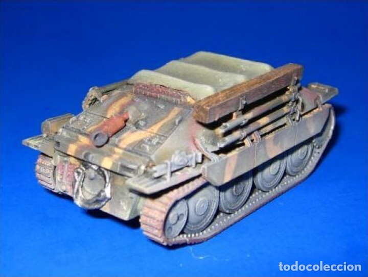 Maquetas: Bergerpanzer 38(t) HETZER 1:72 UM 357 maqueta carro recuperación diorama - Foto 17 - 156522252