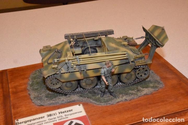 Maquetas: Bergerpanzer 38(t) HETZER 1:72 UM 357 maqueta carro recuperación diorama - Foto 18 - 156522252