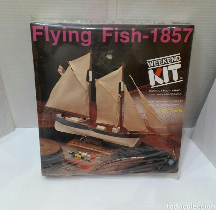 BARCO FLYING FISH 1857.ARTESANÍA LATINA.NUEVO.PRECINTAD.ESCALA 1:185.REF 17003.WEEKEND KIT.1990. (Juguetes - Modelismo y Radiocontrol - Maquetas - Barcos)