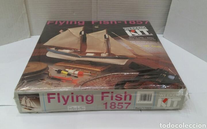 Maquetas: BARCO FLYING FISH 1857.ARTESANÍA LATINA.NUEVO.PRECINTAD.ESCALA 1:185.REF 17003.WEEKEND KIT.1990. - Foto 2 - 156607232