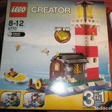 Maquetas: LEGO REF.5970 FARO NUEVO A ESTRENAR CON PRECINTOS DESCATALOGADO. Lote 156698730