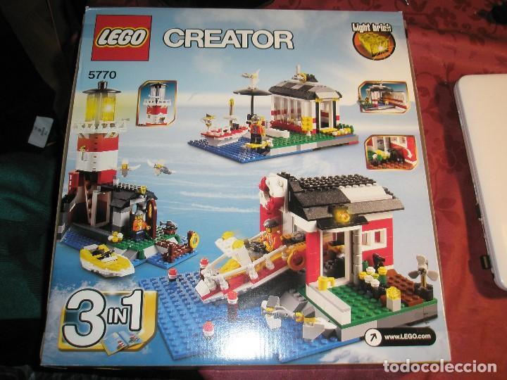 Maquetas: LEGO REF.5970 FARO NUEVO A ESTRENAR CON PRECINTOS DESCATALOGADO - Foto 2 - 156698730