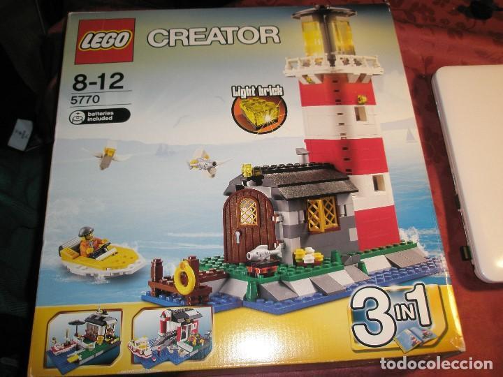 Maquetas: LEGO REF.5970 FARO NUEVO A ESTRENAR CON PRECINTOS DESCATALOGADO - Foto 4 - 156698730