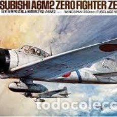Maquetas: TAMIYA - MITSUBISHI A6M2 ZERO FIGHTER ZEKE 1/48 MA116. Lote 156780054
