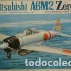 Maquetas: FUJIMI - SAMURAI A6M2 ZERO 5A 18 1/48 . Lote 156780138