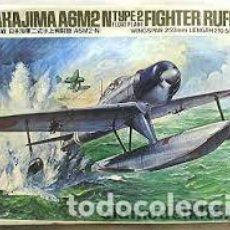 Maquetas: TAMIYA - NAKAJIMA A6M2 TYPE 2 FIGHTER RUFE 1/48 MA117+ EXTRAS . Lote 156780326