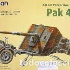 Maquetas: ALAN - PAK 43 8.8 CM PANZERJAGERKANONE 1/35 020. Lote 156782014