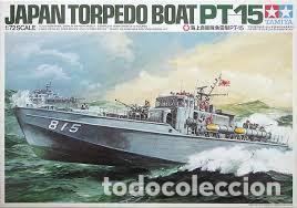 TAMIYA - JAPAN TORPEDO BOAT PT-15 1/72 79002 (Juguetes - Modelismo y Radiocontrol - Maquetas - Militar)