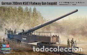 HOBBY BOSS - GERMAN 280MM K5 RAILWAY GUN LEOPOLD 1/72 82903 (Juguetes - Modelismo y Radiocontrol - Maquetas - Militar)