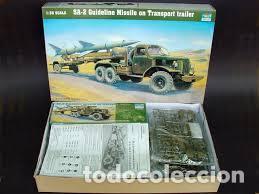 TRUMPETER - SA-2 GUIDELINE MISSILE ON TRANSPORT TRAILER 1/35 00204 (Juguetes - Modelismo y Radiocontrol - Maquetas - Militar)