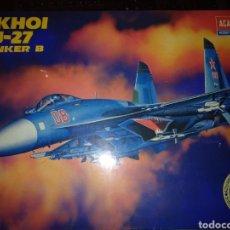 Maquetas: SUKHOI SU-27 FLANKER B. ESCALA 1/48TH. DE ACADEMY HOBBY MODEL KITS.. Lote 156917790