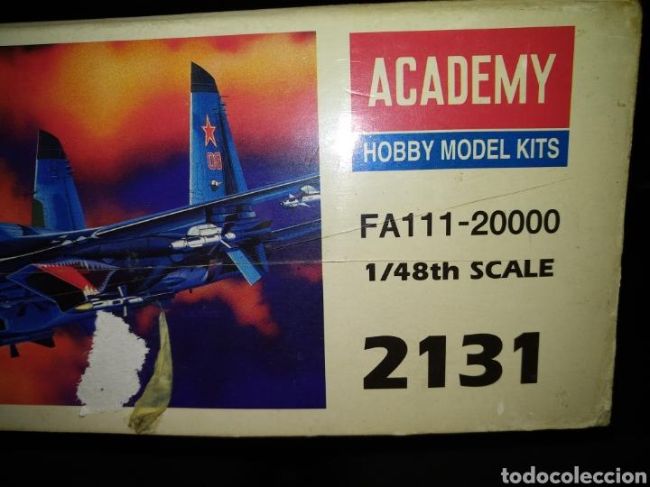 Maquetas: SUKHOI SU-27 FLANKER B. ESCALA 1/48TH. DE ACADEMY HOBBY MODEL KITS. - Foto 7 - 156917790