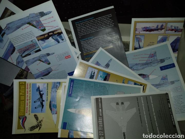 Maquetas: SUKHOI SU-27 FLANKER B. ESCALA 1/48TH. DE ACADEMY HOBBY MODEL KITS. - Foto 11 - 156917790