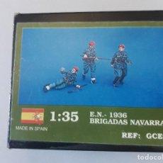 Maquetas: NIMIX 1/35 1936 BRIGADAS NAVARRAS. Lote 156953054